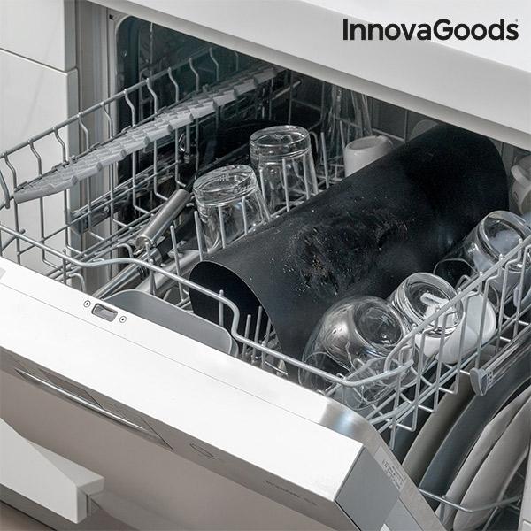 tapis de cuisson pour four et barbecue innovagoods pack. Black Bedroom Furniture Sets. Home Design Ideas