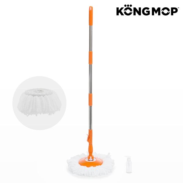 Fregona giratoria con cubo deslizante kong mop easy - Cubo fregona escurridor automatico ...