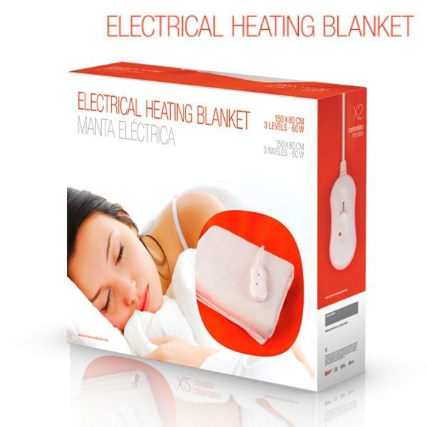 Manta Electrica 150 X 80.Electrical Heating Blanket Electric Blanket 150 X 80 Cm
