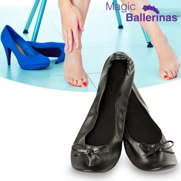 4008b8124f3 Zapatillas Bailarinas Manoletinas Magic Ballerinas - Innovadeals ®