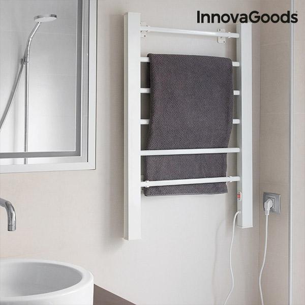 porte serviettes lectrique innovagoods 90w blanc 6 barres innovadeals. Black Bedroom Furniture Sets. Home Design Ideas