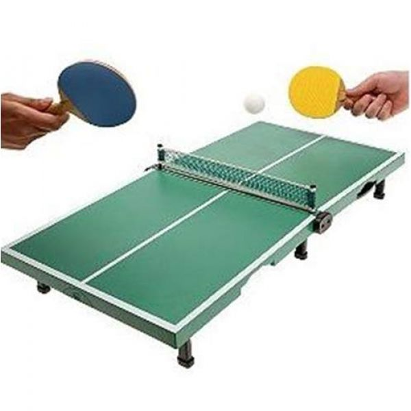 Mini tabletop ping pong innovadeals for Small ping pong balls