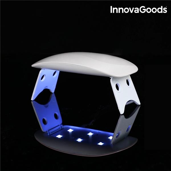mini lampe led uv pour ongles innovagoods innovadeals. Black Bedroom Furniture Sets. Home Design Ideas