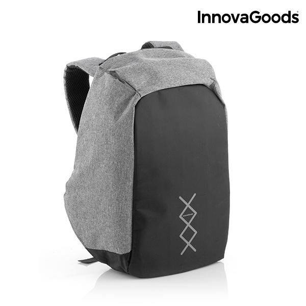 sac dos antivol innovagoods innovadeals. Black Bedroom Furniture Sets. Home Design Ideas