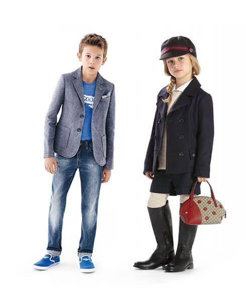 Ropa y calzado para niños